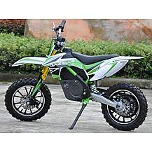 image of Rage Raptor Db500 Dirt Bike - 36v Electric Kids Motorbike - Green