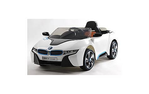 image of Bmw Licensed I8 Concept 12v Kids Electric Car - White