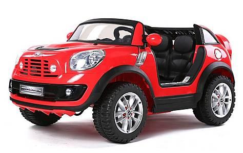 image of Licensed Mini Cooper Beachcomber 12v Kids Electric Car - Red