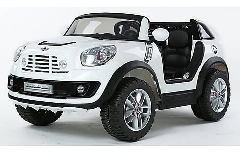 image of Licensed Mini Cooper Beachcomber 12v Kids Electric Car - White