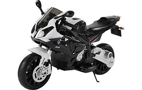 image of Licensed Bmw 12v Kids Electric Motorbike - Black