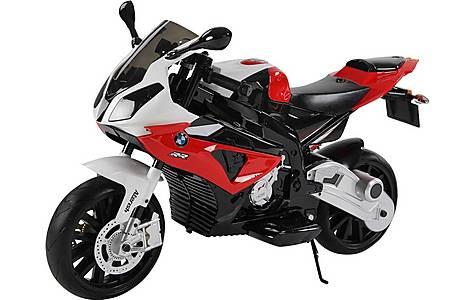 image of Licensed Bmw 12v Kids Electric Motorbike - Red