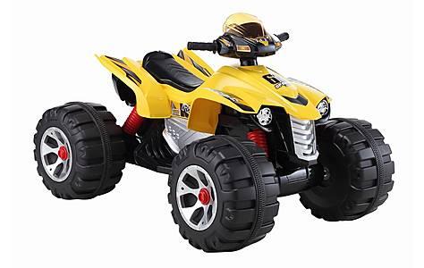 image of Big Ride On Electric Raptor Quad Bike 12v - Yellow