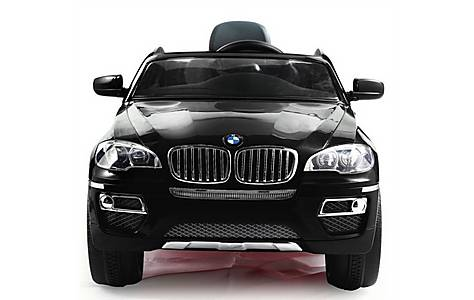 image of Bmw X6 - Licensed 12v Electric Ride On Jeep - Black