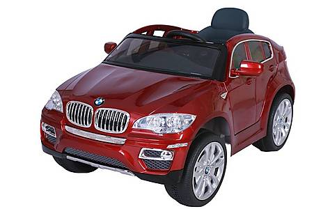 image of Bmw X6 - Licensed 12v Electric Ride On Jeep - Red