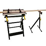 image of Arrows Universal Workbench With Roller Stand Tilting Adjustable Work Mate