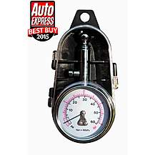 image of Racex Dial Tyre Pressure Gauge With Case Rx0014