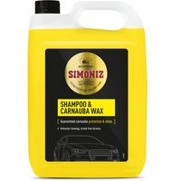 Simoniz Shampoo and Carnauba Wax 5L