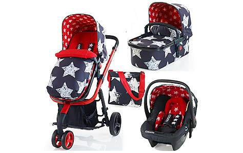 image of Cosatto Giggle 3-in-1 Travel System - Free Car Seat In Hipstar