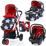 Cosatto Giggle 3-in-1 Travel System - Free Car Seat In Hipstar