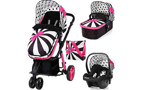 image of Cosatto Giggle 3-in-1 Travel System - Free Car Seat In Go Lightly