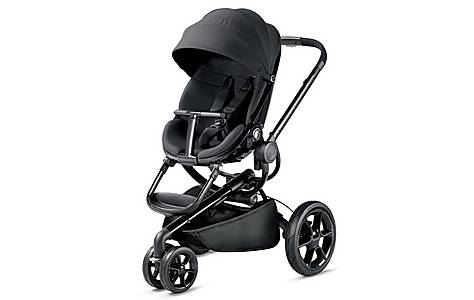 image of Quinny Moodd Pushchair In Black Devotion