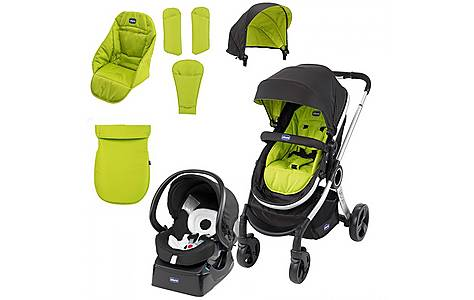 image of Chicco Urban Stroller Travel System - Wimbledon