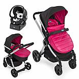 Chicco Urban Stroller Travel System In Winter Sunset