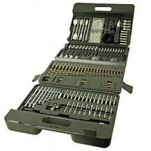 image of Lumberjack Dbs205 204 Piece Drill Bit Set