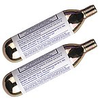 image of Weldtite Jet Valve Co2 Cartridges - Pack Of 2. Reinflate Bike Tryes Without A Pump