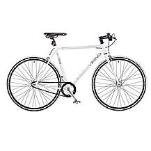 image of Viking Urban City Gents Single Speed Fixed Gear Fixie 700c Road Racing Bike
