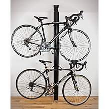 image of Bike (gear Up) Floor-to-ceiling Aluminum Bike Rack - Black