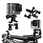 image of Navitech - Handlebar Bike & Motorcycle Mount For Action Cameras Including Gopro Cameras