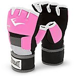 image of Everlast Evergel Ladies Hand Wrap Boxing Gloves - Pink