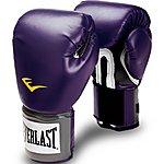 image of Everlast Pro Style Training Gloves Womens - Black Orchid 12oz