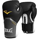 image of Everlast Pro Style Elite Training Boxing Gloves - Black 16oz