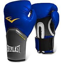 image of Everlast Pro Style Elite Training Boxing Gloves - Blue 16oz