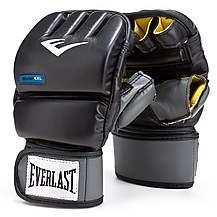 image of Everlast Pu Evergel Heavy Boxing Bag Gloves - Small / Medium