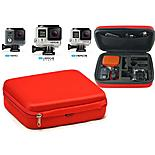 Navitech - Red Eva Hard Carry Case For Gopro Actions Cameras