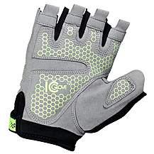 image of Icglove Indicator Cycling Bicycle Silicone Gel Half Finger Fingerless Gloves Bike Sports - X Large