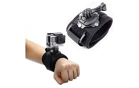 image of Navitech - Swivel 360 Rotation Wrist Strap Arm Band Mount For The Gopro Hero+ Lcd / Hero 1/2/3/4