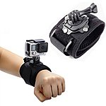 image of Navitech - Swivel 360 Rotation Wrist Strap Arm Band Mount For The Gopro Hero+ Lcd / Hero 1/2/3/4