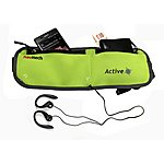 image of Navitech - Green Smartphone Running / Jogging Water Resistant Sports Belt / Waistband For 4 To 6 Inch