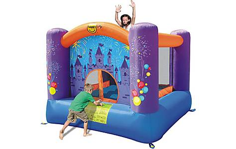 image of Childrens Firework Bouncy Castle 9001f