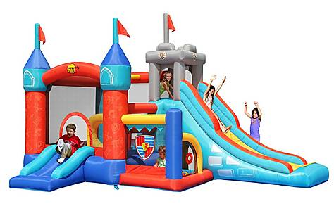image of 13 In 1 Medieval Knights Bouncy Castle