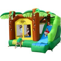 Jungle Climb And Slide Bouncy Castle 9164