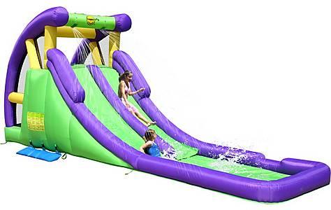 image of Inflatable 20ft Double Mega Waterslide