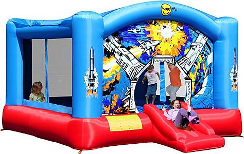 image of Super Space Slide Bouncy Castle