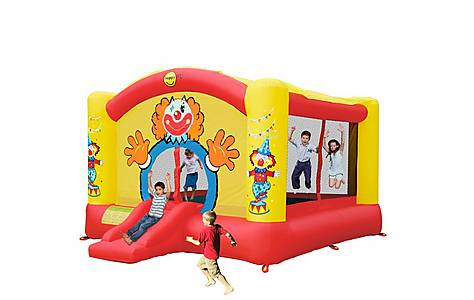 image of Super Clown Bouncy Castle With Slide 9014n