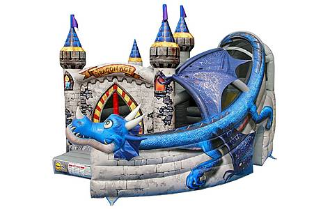 image of Dragon Age Commercial Bouncy Castle 1031
