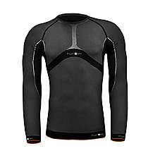 image of Funkier Js-640-l Winter L/s Thermal Base Layer In Black/grey - Xs-m