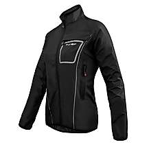 image of Funkier Wj-1403 Storm Ladies Waterproof Jacket In Black - Large