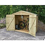 image of Timber Bike Store Pressure Treated
