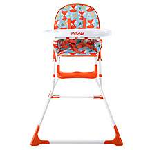 image of My Babiie Mbhc1f Foxy Compact Highchair