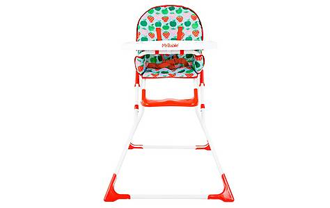 image of My Babiie Mbhc1s Fruits Compact Highchair