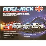 Anti-jack Vehicle Theft Protection System