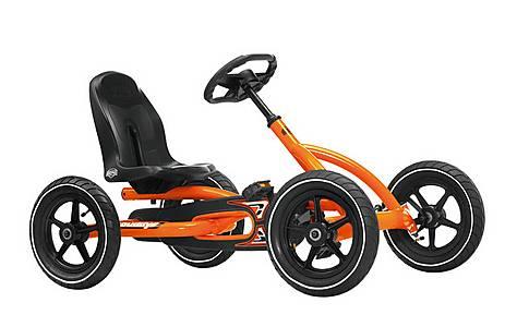 image of Berg Toys Ride On Kids Buddy Go Kart - Orange