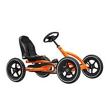 image of Berg Toys Ride On Kids Buddy Go Kart - Orange