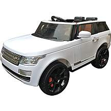 image of Range Rover Sport Svr Style 12v Electric Jeep - White