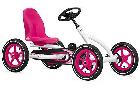 image of Berg Toys Ride On Kids Buddy Pedal Go Kart -White